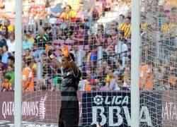 Enlace a Portero del Levante pidiendo compasión al Barça