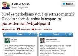 Enlace a Periodismo vs Roncero por @AlexFrigenti14