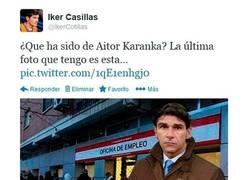 Enlace a Hace mucho que no se habla de él ¿dónde estás, Karanka? por @ikercotillas