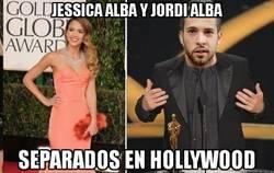 Enlace a Jessica Alba y Jordi Alba