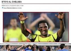 Enlace a ¿Eto'o al Chelsea?