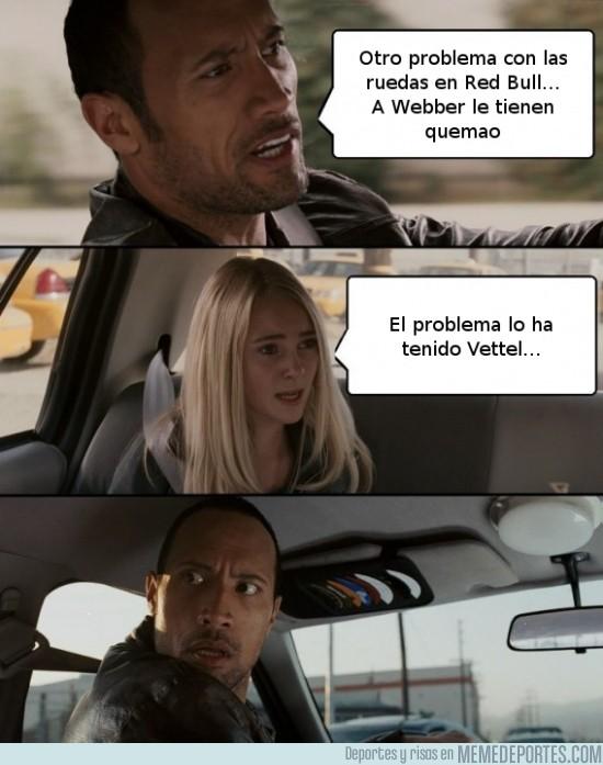 178437 - Un problema en el coche de Vettel, ¡no puede ser!