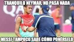 Enlace a Tranquilo Neymar, no pasa nada