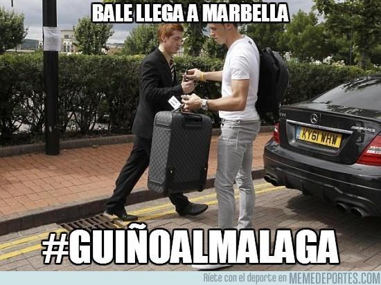 178779 - Bale llega a Marbella