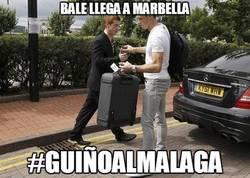 Enlace a Bale llega a Marbella