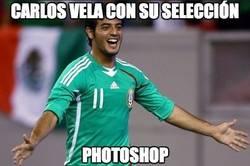 Enlace a Carlos Vela con su selección