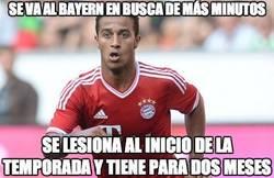 Enlace a Se va al Bayern en busca de más minutos