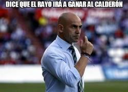 Enlace a Dice que el Rayo irá a ganar al Calderón