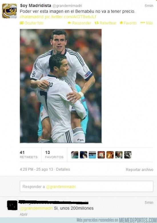 179235 - Poder ver esta imagen en el Bernabéu no va a tener precio ¿que no?