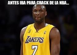 Enlace a Antes iba para crack de la NBA