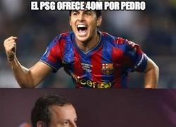 Enlace a El P$G ofrece 40M por Pedro