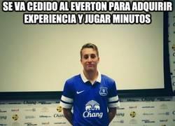 Enlace a Se va cedido al Everton para adquirir experiencia y jugar minutos