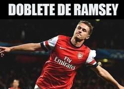 Enlace a Otro gol de Ramsey