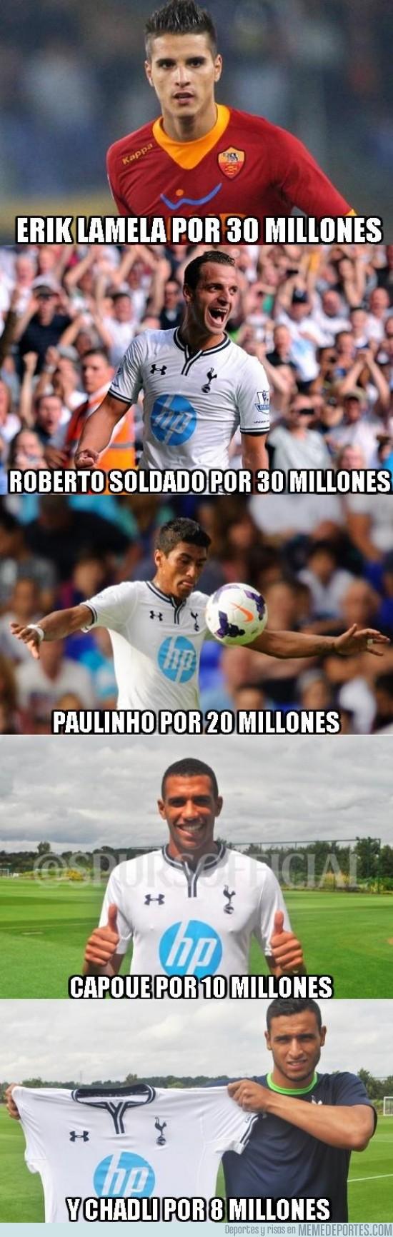 180172 - Y así sustituye el Tottenham a Bale