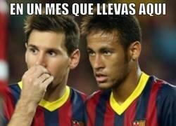 Enlace a Una cámara capta en exclusiva lo que le dijo Messi a Neymar... por @JulioMaldini