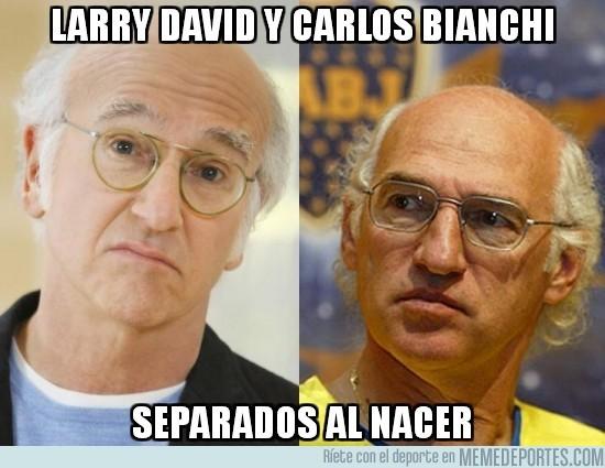180439 - Larry David y Carlos Bianchi, separados al nacer