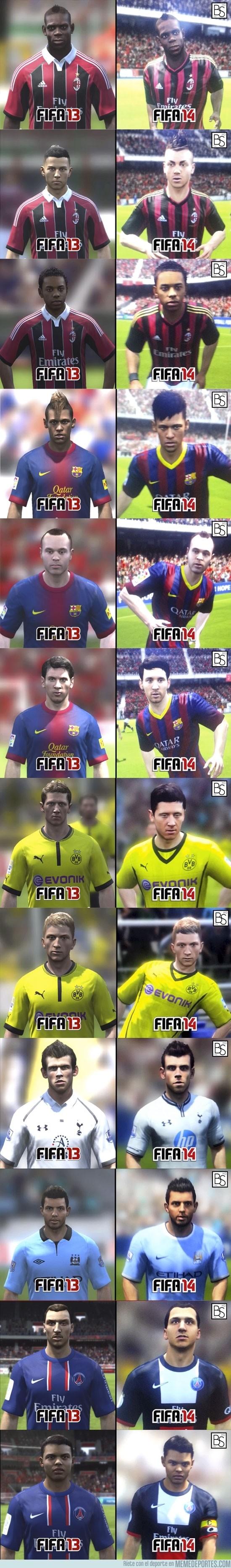 180447 - Diferencias entre Fifa 13 y 14