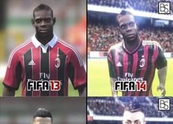 Enlace a Diferencias entre Fifa 13 y 14