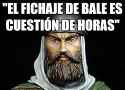 Enlace a ''El fichaje de Bale es cuestión de horas''