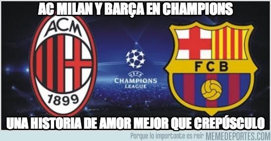 180639 - AC Milan y Barça en champions