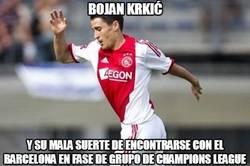 Enlace a Bojan Krkić, otra vez contra el Barça