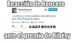 Enlace a Reacción de Roncero ante el premio de Ribéry
