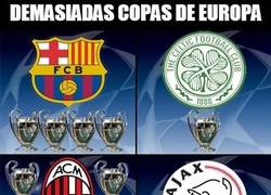 Enlace a En el grupo H hay demasiadas copas de Europa