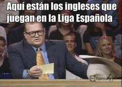 Enlace a Aquí están los ingleses que juegan el la Liga Española