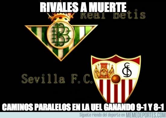 180839 - Sevilla y Betis, caminos paralelos en la Europa League