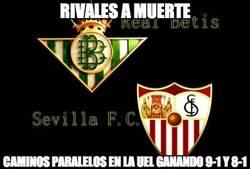 Enlace a Sevilla y Betis, caminos paralelos en la Europa League