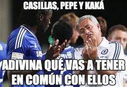 Enlace a Casillas, Pepe y kaká
