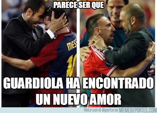 181325 - Parece ser que Guardiola ha encontrado un nuevo amor