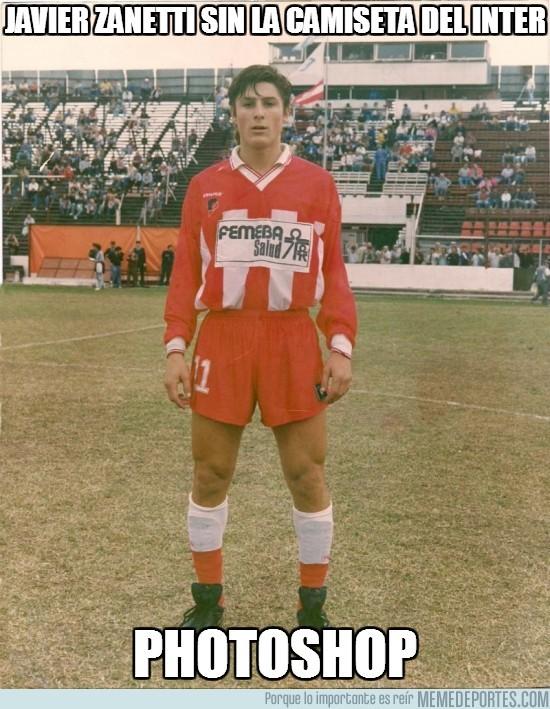 181664 - Javier Zanetti sin la camiseta del Inter