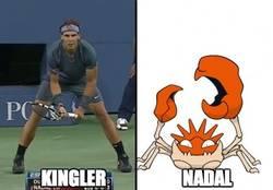 Enlace a Nadal y Kingler, parecidos razonables