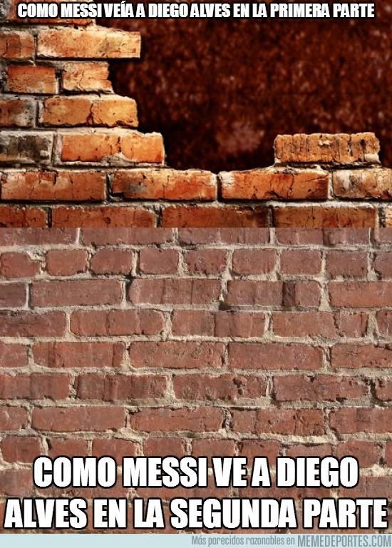 182140 - Diego Alves visto por Messi