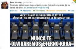 Enlace a Despedida a Kaká por @ElTikiTata