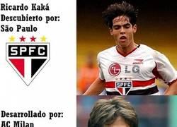 Enlace a La historia de Kaká