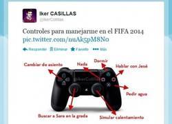 Enlace a Controles para Casillas en el FIFA 2014