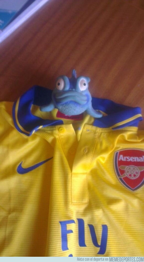 182452 - Primera imagen de Özil con la camiseta del Arsenal por @SahinPool