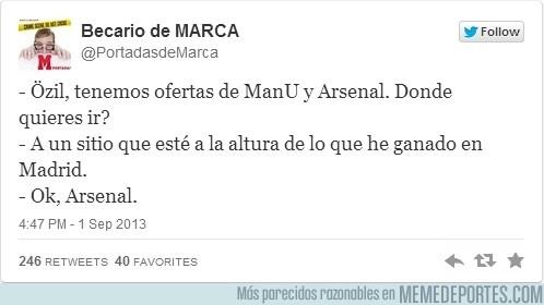 182462 - Así fue cómo Özil decidió ir al Arsenal por @portadasdemarca