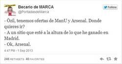 Enlace a Así fue cómo Özil decidió ir al Arsenal por @portadasdemarca