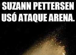Enlace a Suzann Pettersen usó Ataque Arena