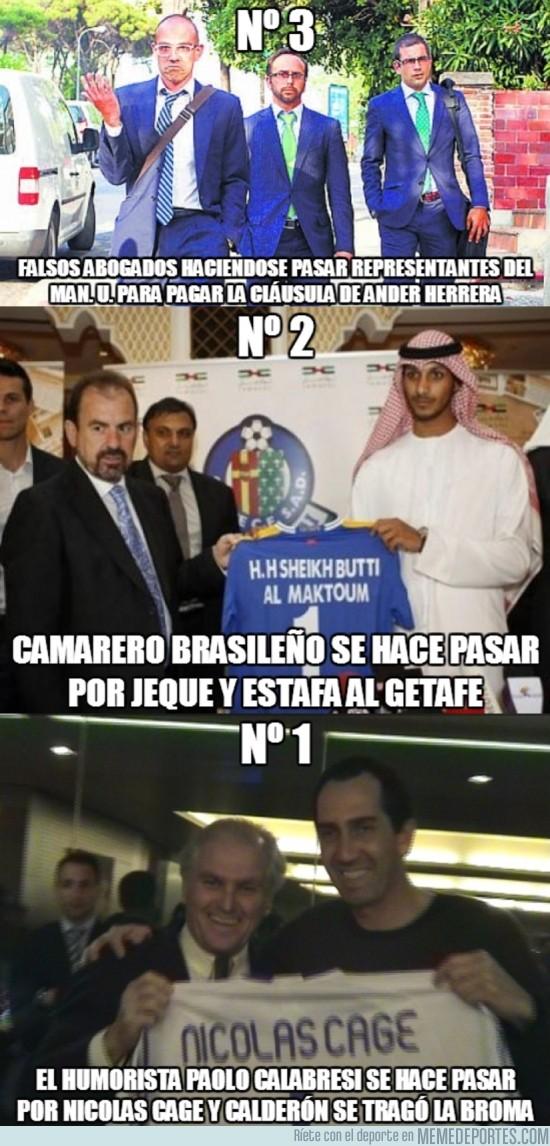 182763 - Top 3 de impostores en el mundo del fútbol