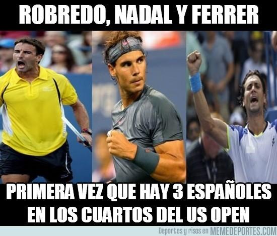 182878 - Los españoles se salen en el US Open