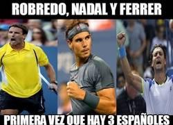 Enlace a Los españoles se salen en el US Open