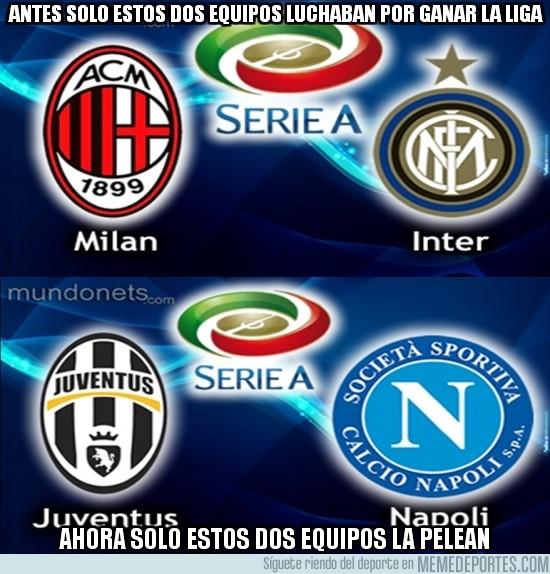 183116 - Cómo ha cambiado la Serie A