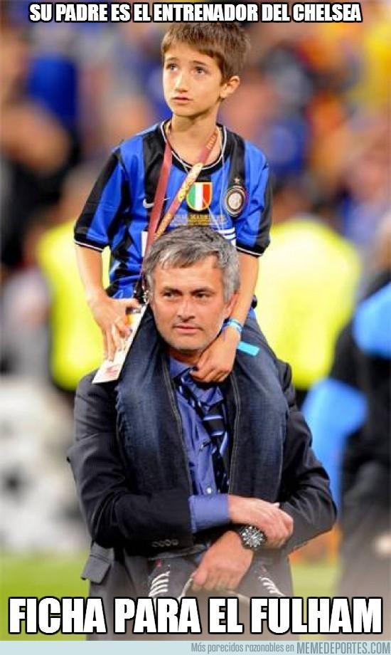 183446 - Su padre es el entrenador del Chelsea