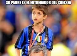 Enlace a Su padre es el entrenador del Chelsea