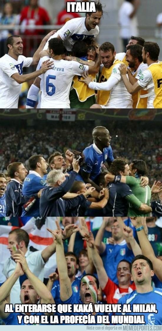 183756 - Ya se sabe, país al que va Kaká a jugar...