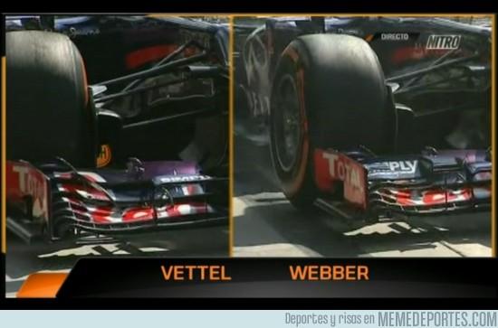 183868 - Diferencias entre el nuevo alerón de Vettel y el de Webber. ¿Ventaja alguien?